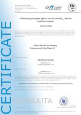 Certificazione Holz Pellet Premium - www.ilmiofocolare.it -