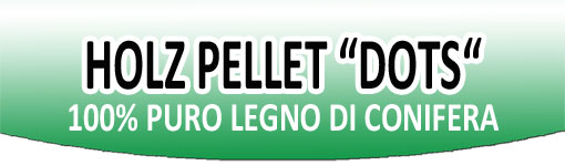 Holz Pellet Certificato Dots - www.ilmiofocolare.it -